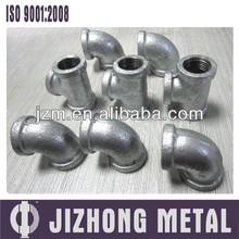 Malleable cast iron pipe fittings ASME16.3 for Venezuela market 150lb
