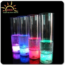 night club 350mL juice cup with colored led light including red,blue, yellow,white