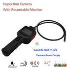 "2014 Modern!!!420TVL 2M IR Cmos Mini Snake Inspection CCTV Camera with 2.7"" TFT Monitor, Support Max. 32GF TF Card"