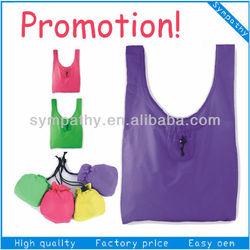 promotional cheap nylon foldable reusable shopping bag