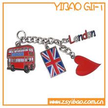 London keychain with custom logo made in China