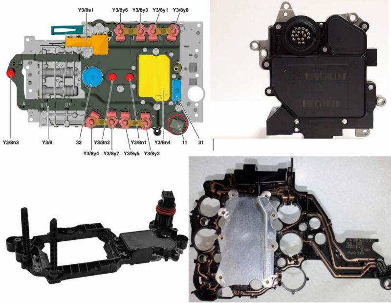 Mercedes w168 w169 w245 a b class 722 8 transmission for Mercedes benz ecu repair