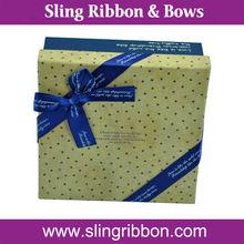 Ribbon Bow Tie Gift Box Gift Ribbon Bow