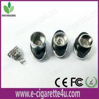 2014 popular wax oil e-cigarettere buildable glass atomizerof metal tube pipe Ego
