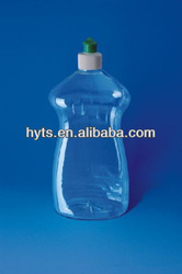 dishwashing detergent plastic bottle