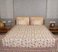 baumwolle bettwäsche großhandel floral bedruckte indische tagesdecke 3 stück