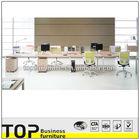 Modern 8 seats workstation office desk furniture in penang