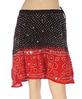 Indian traditional bandhej skirt Fancy designer bandhej print cotton mini skirts