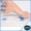 ortopédica de silicone gel de palmilhas para calçados