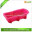 Premium ECO - friendly Silicone Loaf Pan - Extremely Flexible & Durable Silicone Loaf Mold for Fast Baking