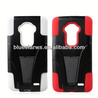 In stock with cheap price shockproof heavy duty case cover for lg g2 for lg optimus g2 pc silicon case