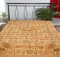 indian bordado colcha artesanal étnica tapeçarias colcha