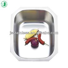 Huzhou best sale stainless steel kitchen sink single bowl / kitchen sink drain parts or kitchen sink grinder JS516