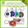 Custom Logo Printed Promotional Flashlight Keychain