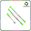 61mm/105mm/121mm stainless steel dab tools for dry herbs e cig