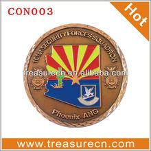 custom cheap commemorative round coins