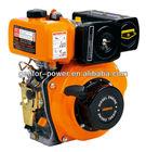 4.7HP to 10HP Diesel Engine/GF170F, GF 178 F(E) GF186F(E)Agriculture cranshaft small diesel engine for rotavator