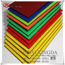 Size 1.22 x 2.44M 3MM thickness alu skin 0.15 x 0.15MM single PE one side unbroken core ACP