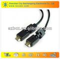 Monitor de la computadora micro cable displayport a hdmi cable 1.4v 1080p cable vga a hdmi con etherent