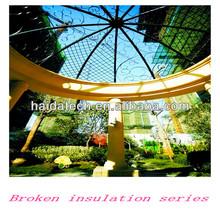 6063 T5 aluminum extrusion broken bridge opening windows/doors made in CHINA