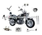 Productos para Motos de las marcas chinas 250-A