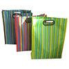 plastic handle hdpe die cut shopping bag