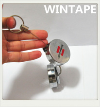 Professional China cheap rotatable badge reel for promotional gift with your sticker logo