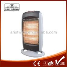 1200W Halogen Heater Heating By 3 Lamps Hot Sale In Europe
