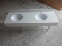 Acrylic stone lowes bathroom countertops , marble bathroom countertop