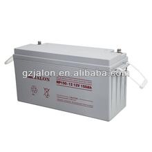 maintenance free battery 12V150AH solar panel battery