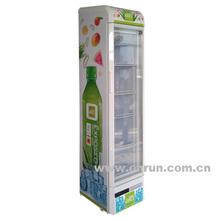 slim display cooler, beer fridge