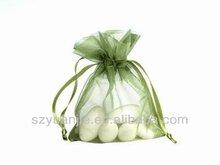 Natural Drawstring OEM Manufature organza tropical gift bags supplier manufacturer exporter