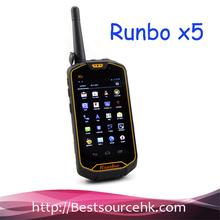 BEST Waterproof Runbo X5 IP67 Android Rugged Smartphone Walkie Talkie Dual SIM MTK6577 Dual Core 1GB RAM FOR Outdoor IN STOCK