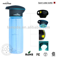Golf water bottle and Dust cover sports water bottles