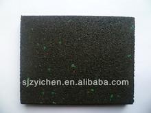Yichen rubber floor mat anti slip/sports floor/dance hall/stair/school/gym/household