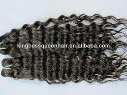2014 China manufacturer wholesale brazilian virgin human hair extension deep wave hair weaving