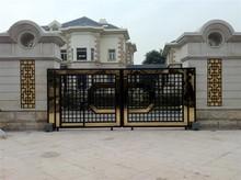 Stainless steel & Iron gate design