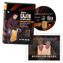 DVD ON HOW TO PLAY THE FLAMENCO CAJON
