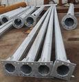 2013 aço de alta qualidade Q235 galvanizado luz da rua poste