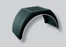 MUDGUARDS IN POLYPROPYLENE FLAT TOPPED WITH WHITE BORDER