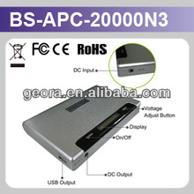 New product Power Supply 20000mAh Mobile Power Bank for Mobile phone 14W & 28W