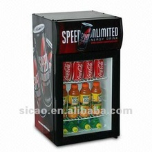 Customized design Decoration Cover Commercial Beverage Showcase for Restaurant Store & Shops