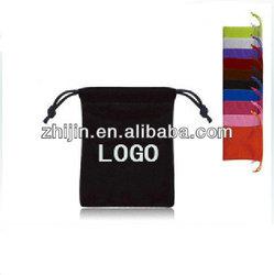 2014 New design velvet mobile bag