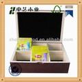 chá caixas de madeira com tampa deslizante e caixa de madeira para sacos de chá