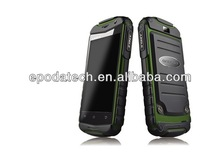 2014 new 3g rugged android 4.2 mobile phone touch