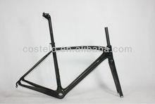 Full Carbon Fiber super light weight road bicycle frame set only 749g