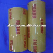 keep food fresh pvc cling film pvc big rolls plastic wrap