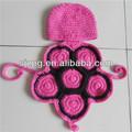 2014 nuovo bambino fatto a mano uncinetto maglia cappello neonato tartaruga tartaruga costume foto prop