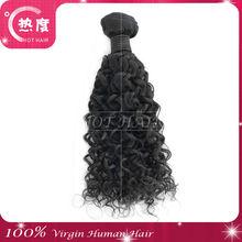 Best selling good reputation trust beautiful peruvian jerry curl human hair for braiding