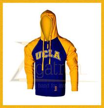 mens hooded sweatshirt / enzyme washed sweat shirt / mens custom sweatshirt